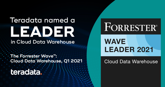 forrester wave teradata is named leader.png?width=640&height=336&ext= Teradata Named a Leader in Cloud Data Warehouse Evaluation by Independent Research Firm