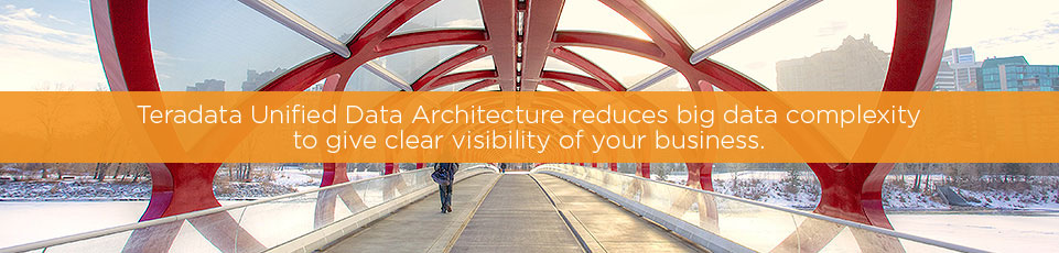 Teradata Unified Data Architecture reduces big data complexity to give you clear visibility of your business