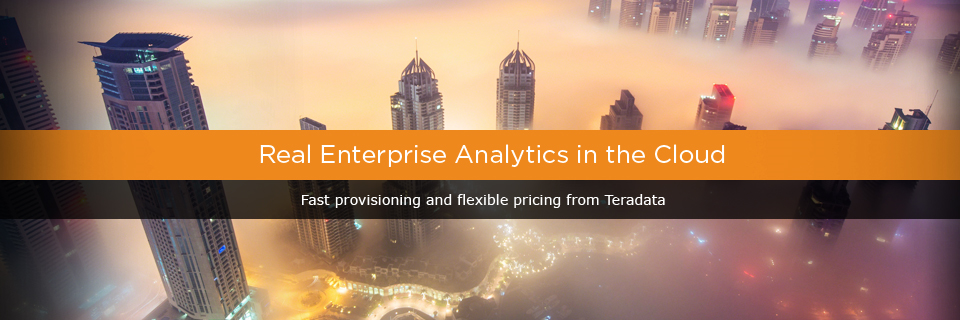 Enterprise Analytics in The Cloud | Teradata Cloud Solutions
